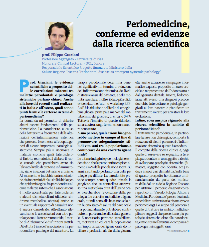 mediamix n 58 - intervista prof Graziani